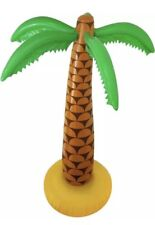 "1x Inflatable Palm Tree 6ft 168cm 72"" Luau Hawaiian Summer Party"