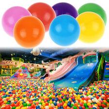 2000pcs 5.5cm Colorful Baby Kid Pit Toy Fun Swim Pool Plastic Soft Ocean Ball US