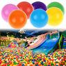 100pcs Funny Baby Kids Swim Pit Pool Toys Colorful Ball Soft Plastic Ocean Ball