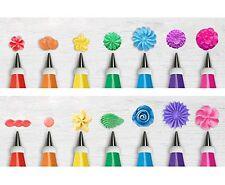 28PCS Cake Decorating Tips Kits Icing Tip Set Tools Nozzles Cupcake Cookies Kids