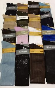 MEN'S OVER THE CALF SEXY SHEER AND RIBBED ORIGINS, STACY ADAMS SOCKS NEW!!
