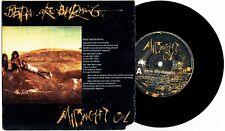 """MIDNIGHT OIL - BEDS ARE BURNING - 7"""" 45 VINYL RECORD w PICT SLV - 1987"""
