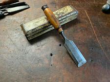 "Vintage Bahco 1 1/2"" Bevel Chisel Made in Sweden Old Woodwork Hand Tools."