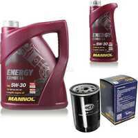 Ölwechsel Set 6L MANNOL Energy Combi LL 5W-30 Motoröl + SCT Filter KIT 10190623
