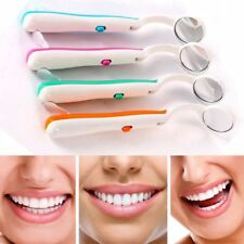 Health Light Mirror Mouth Dental Mouth Mirror With LED Reusable