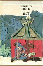 HESSE Hermann, Romanzi brevi. Knulp, Demian, Klein e Wagner...Mondadori, 1961