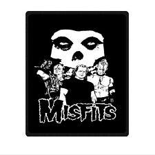 "Brand New Soft Misfits Band Rock Blanket 58"" x 80"" Inch"