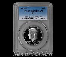 1976-S Silver Kennedy Half Dollar PCGS PR69DCAM