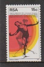 RSA SOUTH AFRICA 1977 - 8th Congress of I.A.P.E.S SG 435 MNH GYMNAST SPORTS