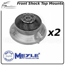 BMW Meyle Front Suspension Shock Top Strut Mounts (Pair) 3003133601