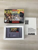 Donkey Kong Country 2: Diddy's Kong Quest (Super Nintendo SNES) W/ Box No Manual
