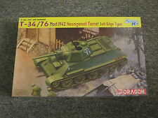 Dragon 1:35 T-34/76 Mod.1942 Hexagonal Turret SET Model Kit #6424 '39-'45 Series