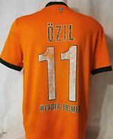 Nike Werder Bremen Trikot Gr. M 11 Özil Saison 2009 / 2010