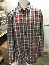 Mens Sean John Button Up Tailored Fit Size 3XLT PM Black NWT MSRP $78