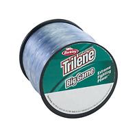 Berkley Trilene Big Game Monofilament Line Steel Blue Quarter Pound Spools