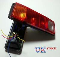 2x Rear Tail Stop Lights Lamps 4 Lights Dodge Truck Lorry Van Bus Pickup Chassis