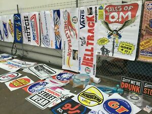 old school bmx BANNER any 7   vdc hutch gt se racing