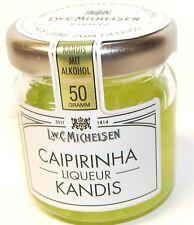 50 g Caipirinha-Kandis - Kandiszucker (67%) mit Likör (33%) (32,00 EUR / 1000 g)