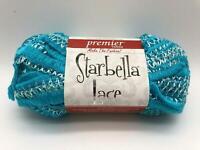 Premier Yarns Starbella Stripes Medal #17-11 Purple Yellow Bulky 3 Pack Ruffle