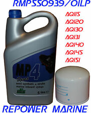 Marine Oil & Filter for Volvo Penta AQ120, AQ125, AQ130, AQ131, AQ140, AQ151