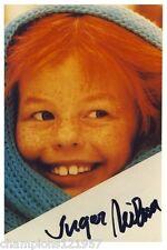 Inger Nielsen ++Autogramm++ ++Pipi Langstrumpf++