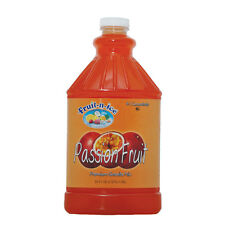 Fruit-N-Ice Granita Frozen Drink Mix Passion Fruit 64oz