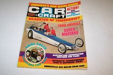 APRIL 1967 CAR CRAFT car magazine SUPER MUSTANG