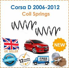 para OPEL CORSA D 1.0 1.2 1.3cdti 1.4 2006-2012 DOS FRONTAL MUELLES HELICOIDALES