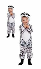 Perro Mascota Traje Chicas Chicos Animal Dálmata Elaborado Vestido Niños Libro Día