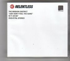 (FE531) The Mission District, Just Don't Feel The Same - DJ DVD