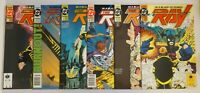 THE RAY: IN A BLAZE OF POWER #1-6 NM- (DC Comics, 1992) COMPLETE Mini-Series