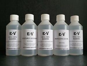 Vegetable Glycerine Propylene Glycol VG/PG Base Mix Highest Purity