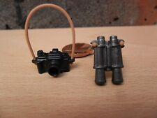 2131 Playmobil Spare Parts, Camera, Binocular, Straps - House Castle Zoo