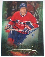 GUY CARBONNEAU SIGNED UD PARKHURST CHAMPIONS MONTREAL CANADIENS CARD AUTOGRAPH!!