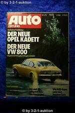 Car Magazine 11/73 Opel Kadett C 800 VW (Passat) Austin Allegro