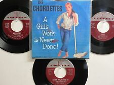 4 THE CHORDETTES HIT 45's+1P(Copy)[A Girl's Work Is Never Done] THE 50's!