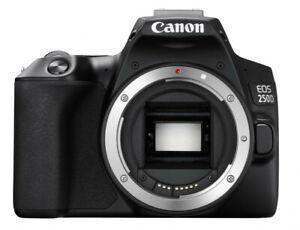 CANON EOS 250D Spiegelreflexkamera, 24.1 Megapixel, 4K, Full HD, Body
