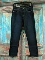 GAP 1969 Women's Size 27 GIRLFRIEND stretch Denim Skinny Blue Jeans B28