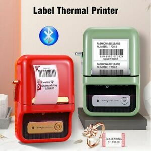 Multifunction Thermal Label Printer Wireless Portable Barcode Price Tag Printers