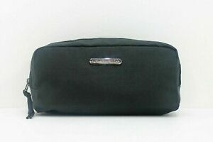 Givenchy Parfums Mens Black Toiletry Wash Bag Pouch Travel Essential Brand New