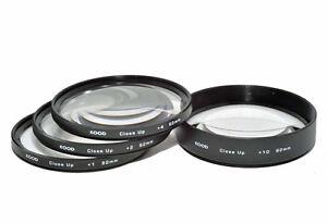 Kood 67mm Macro Close-Up Filter Set +1 +2 +4 +10 for Digital & Film Cameras
