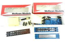 McKean Ho 50' Tofc Flat Cars+45' Trailers Kits (5 Pcs Ttl) ~Partial Builds~ T104
