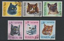 Cats Middle Eastern Stamps
