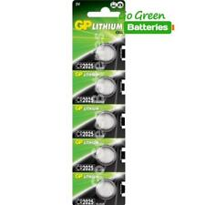 5 x GP CR2025 3V Lithium Coin Cell Battery 2025 DL2025