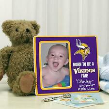 Minnesota Vikings Picture Frame Youth Born To Be Fan