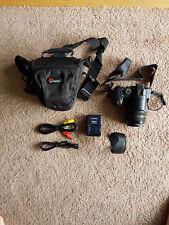 Panasonic LUMIX DMC-FZ30 Digital Camera - Black - Hardly Used, with Accessories