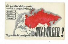 Anti Russian Propaganda Postcard.