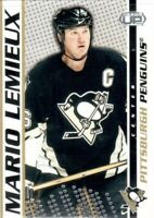 2003-04 Pacific Heads Up Penguins Hockey Card #79 Mario Lemieux