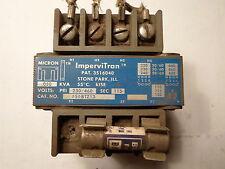 IMPERVITRAN CONTROL TRANSFORMER B050BTZ13, .050 KVA, PRI 230/460, Sec 115