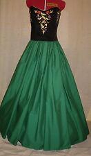 """Dark Green 144"""" skirt for Medieval, Sca, Renaissance, Steampunk to Victorian"""